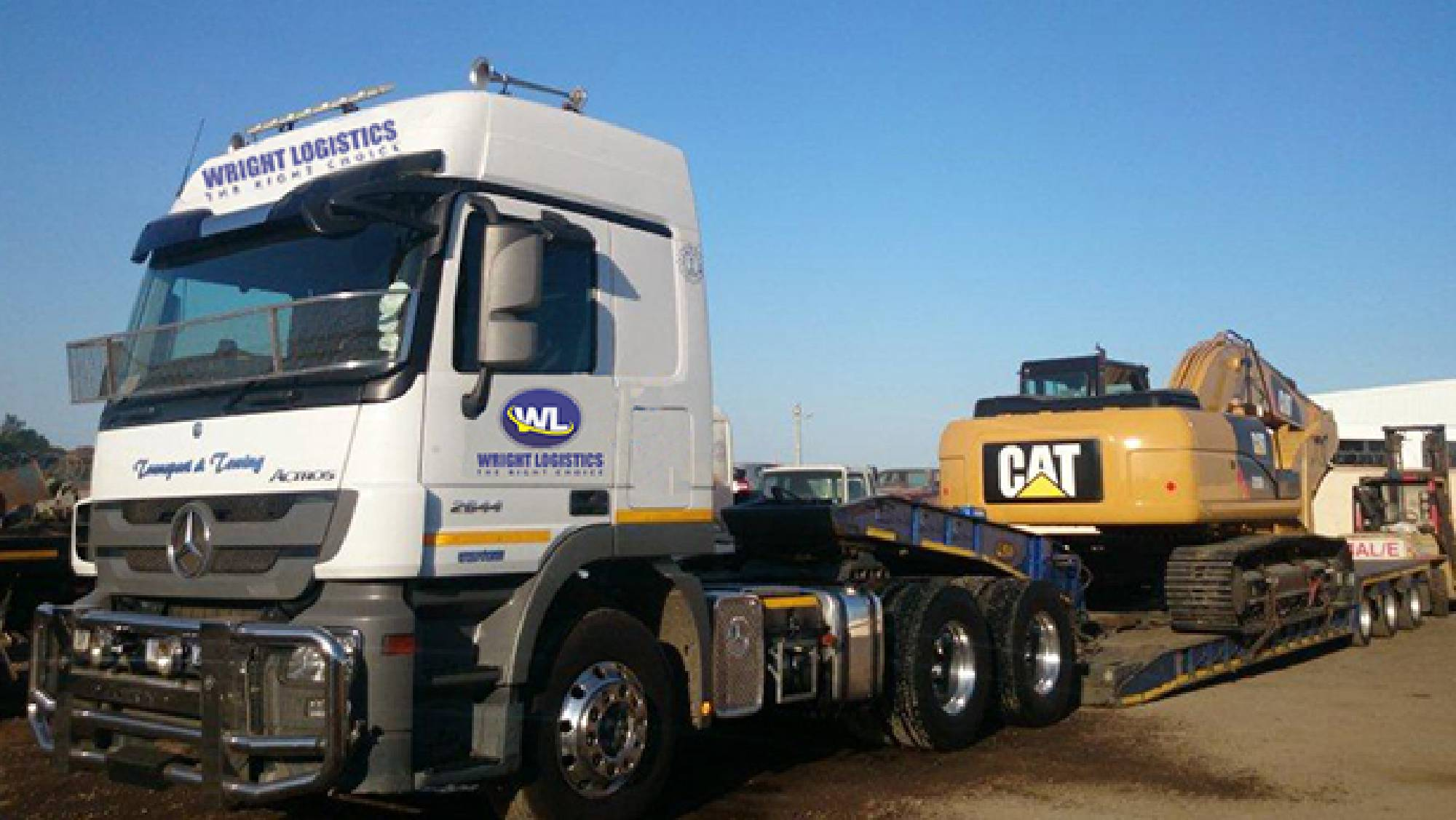 WRIGHT LOGISTICS - Earth Moving Equipment Hire